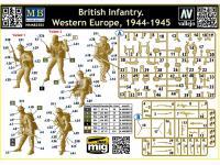 Infantería Británica. Europa Occidental. 1944-1945 (Vista 11)