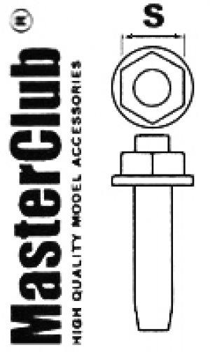 Tornillo Tuerca 1.4 mm  (Vista 1)