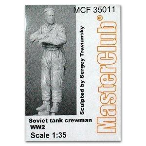 Soviet tank crewman  (Vista 1)