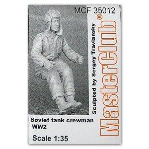 Soviet tank crewman WW2  (Vista 1)