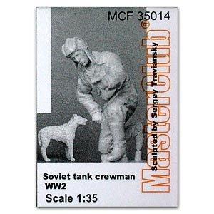 Tanquista Sovietico WWII  (Vista 1)