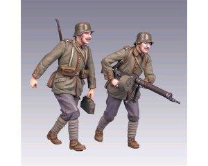 Soldados Alemanes  WWI  (Vista 1)