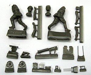 Russian soldiers with Maxim machine gun   (Vista 1)