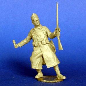 Austro-Hungarian soldado WWI  (Vista 1)