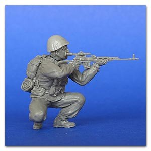 The Russian soldier with Dragunov SVD   (Vista 1)