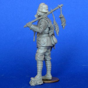 Soldado Aleman con Mascara Gas  (Vista 3)