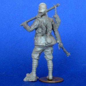 Soldado Aleman con Mascara Gas  (Vista 4)