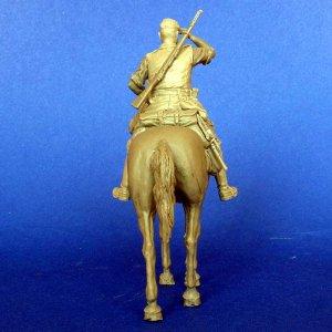 Aleman a Caballo WWI  (Vista 4)