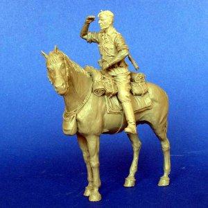 Aleman a Caballo WWI  (Vista 6)