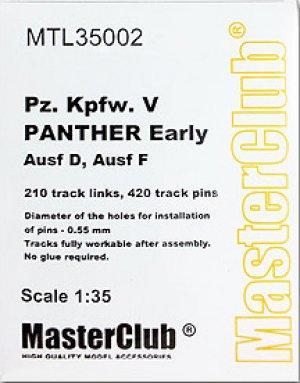 Orugas para Pz.Kpfw.V Panther Ausf.D / F  (Vista 1)
