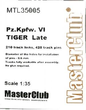 Orugas para Pz.Kpfw.VI Tiger Late  (Vista 1)
