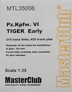 Orugas para Pz.Kpfw.VI Tiger Early  (Vista 1)