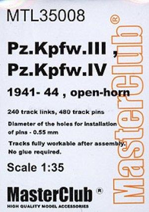 Orugas para Pz.III/Pz.IV 1941-44 open-ho  (Vista 1)
