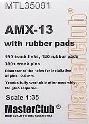Orugas para AMX-13 with rubber pads  (Vista 1)