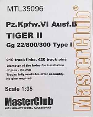 Orugas Pz.Kpfw.VI Ausf.B Kingtiger  (Vista 1)