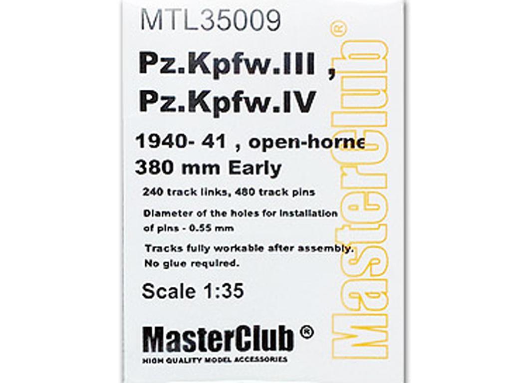 Orugas para Pz.Kpfw.III , Pz.Kpfw.IV 194 (Vista 1)