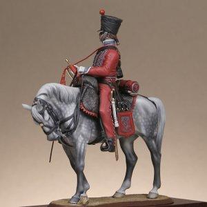 Trumpeter 3th regiment hussars  (Vista 3)