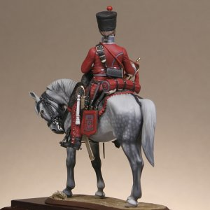 Trumpeter 3th regiment hussars  (Vista 4)