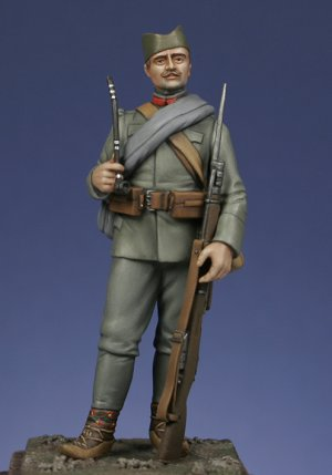Infanteria Serbia 1915  (Vista 1)