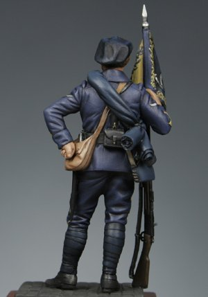 French alpine riflemen 1915 Corporal  (Vista 3)