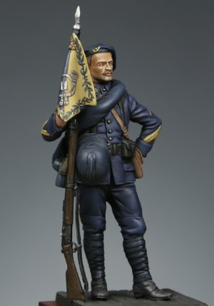 French alpine riflemen 1915 Corporal  (Vista 4)