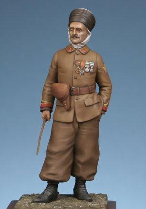 Sergeant of algerian spahis 1918  (Vista 1)