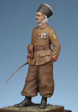 Sergeant of algerian spahis 1918  (Vista 2)