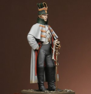 Dragoon of the Guard in greatcoat 1813  (Vista 4)