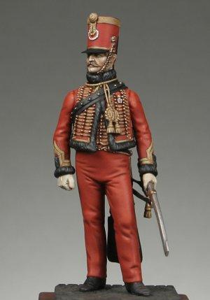 Oficial de la Guardia chasseurs segundo   (Vista 1)