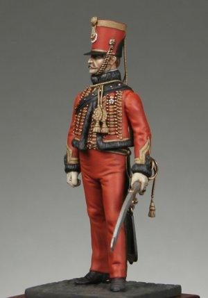 Oficial de la Guardia chasseurs segundo   (Vista 2)