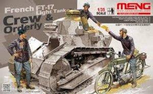 Tanquistas Franceses FT17 y correo  (Vista 1)