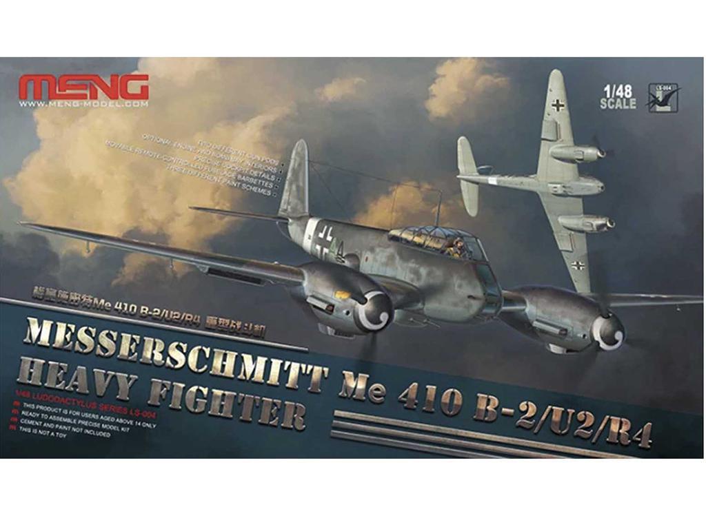 Messerschmitt Me 410B-2/U2/R4 Heavy Figh  (Vista 1)