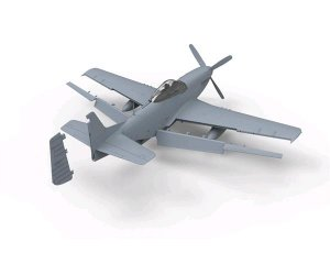 North American P-51D Mustang Fighter  (Vista 2)