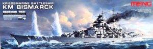 Kriegsmarine Battleship KM Bismarck  (Vista 1)