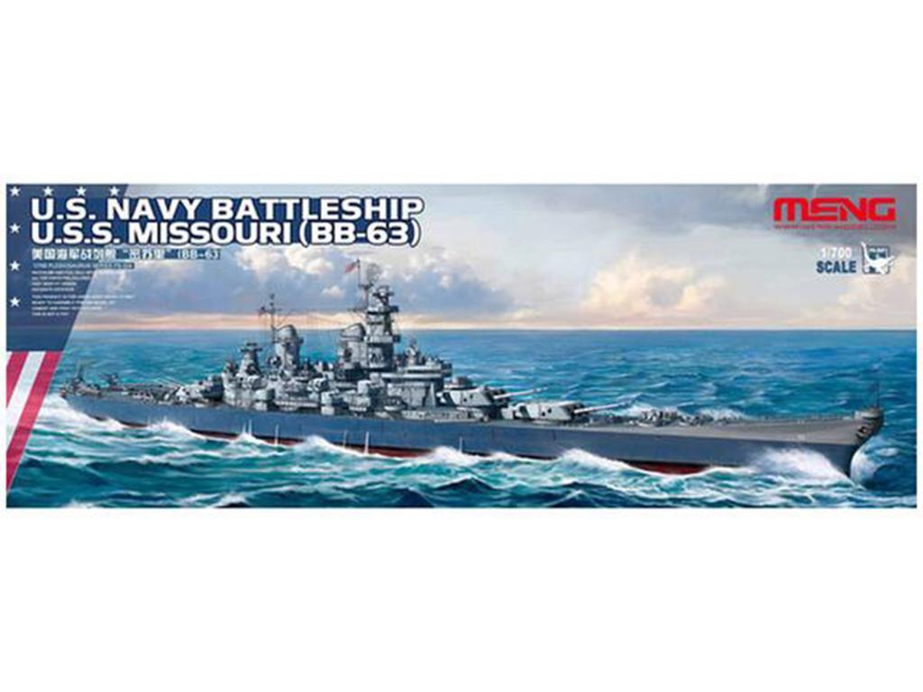 U.S. Navy Battleship U.S.S. Missouri  (Vista 1)