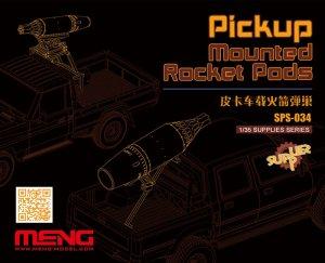Pickup Montado vainas del cohete  (Vista 1)