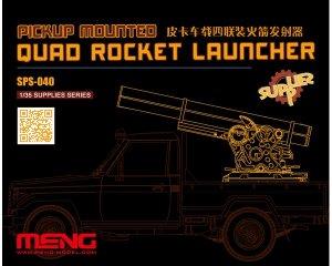 Pickup Mounted Quad Rocket Launcher  (Vista 1)