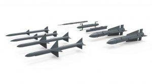 U.S. Long/Medium-range Air-to-air Missil  (Vista 2)