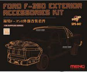 Ford F-350 - Accesorios externos - Ref.: MENG-SPS047
