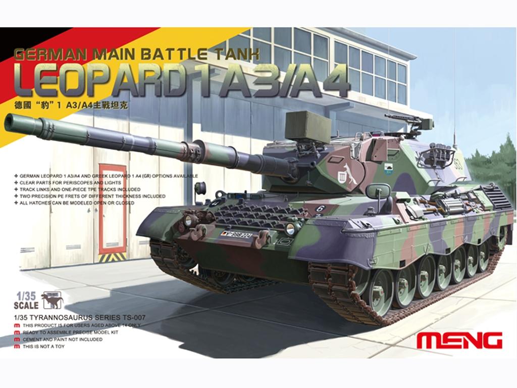Leopard 1 A3/A4 - Ref.: MENG-TS007