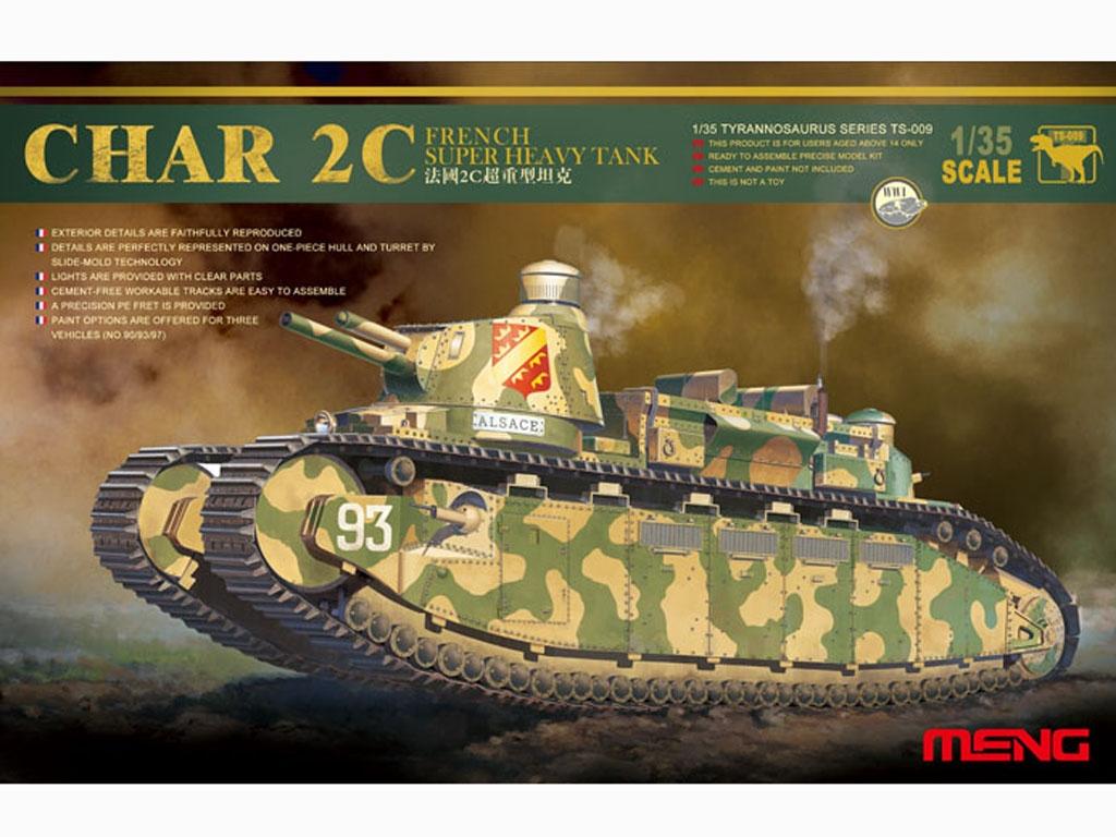 French Char 2C Heavy Tank - Ref.: MENG-TS009