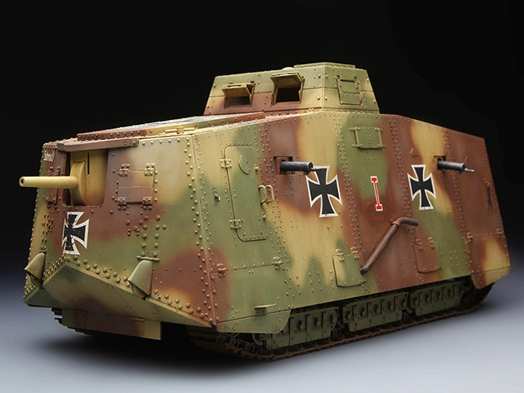 The Panzer Empire's Moving Fortress A7V  (Vista 2)