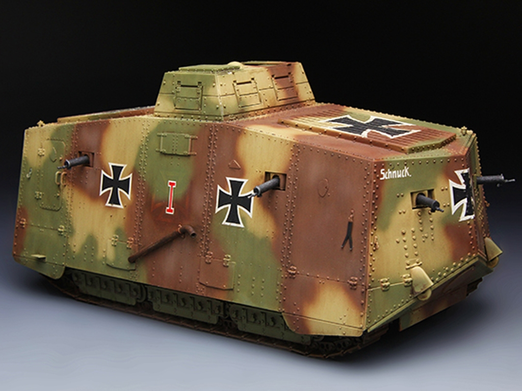 The Panzer Empire's Moving Fortress A7V  (Vista 3)