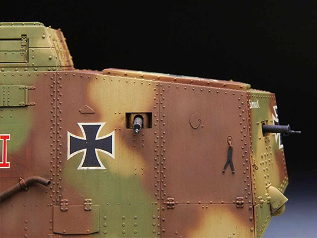 The Panzer Empire's Moving Fortress A7V  (Vista 4)