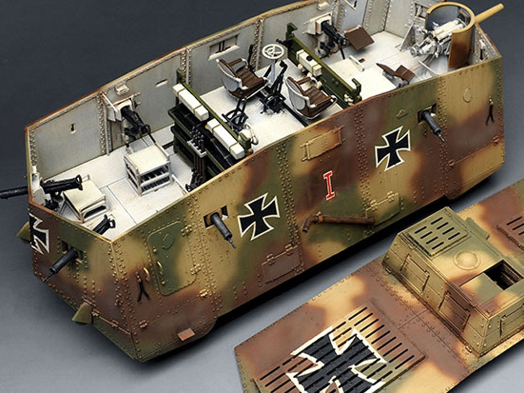 The Panzer Empire's Moving Fortress A7V  (Vista 9)
