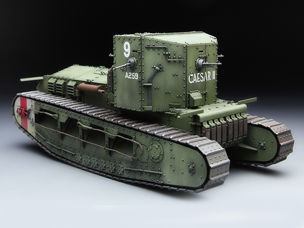 British Medium Tank Mk.A Whippet   (Vista 3)