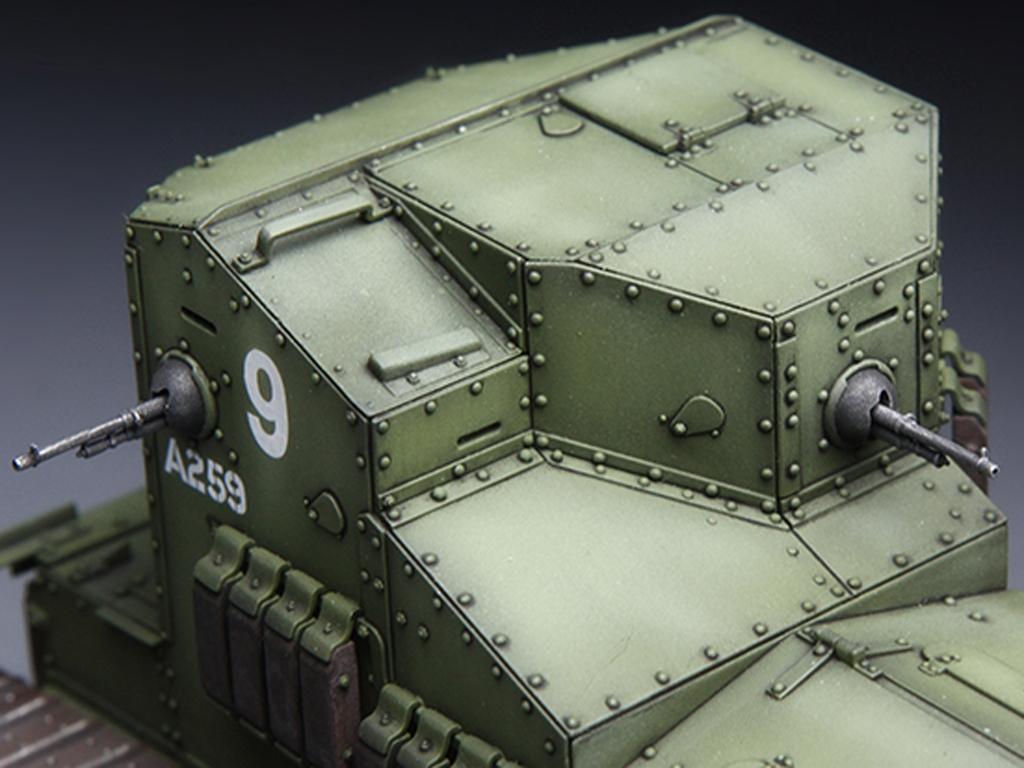 British Medium Tank Mk.A Whippet   (Vista 5)