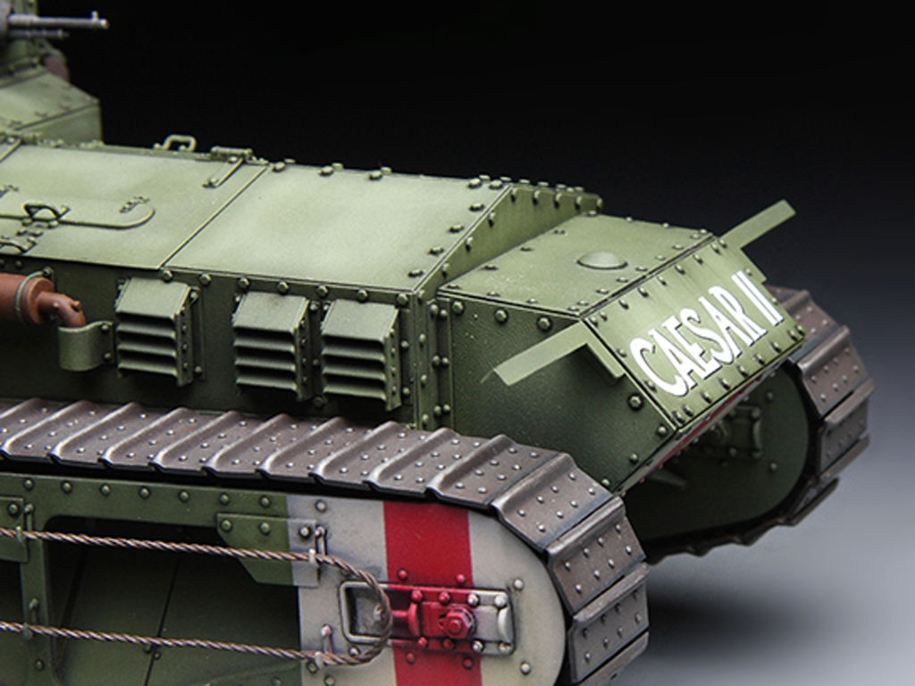 British Medium Tank Mk.A Whippet   (Vista 6)