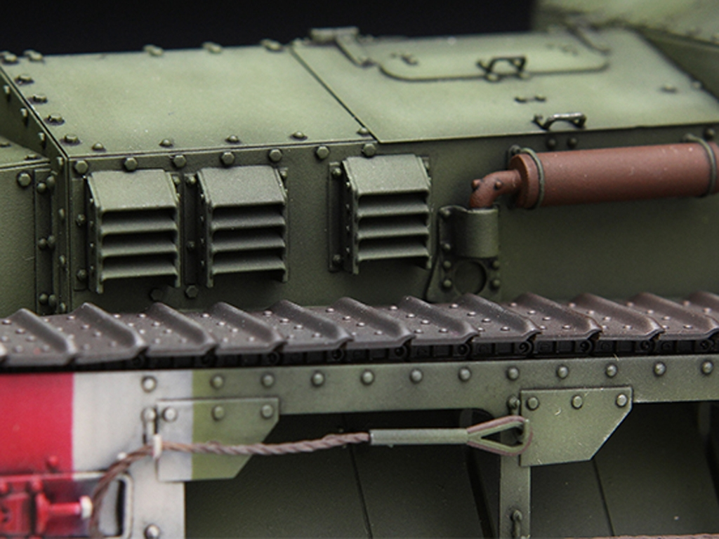 British Medium Tank Mk.A Whippet   (Vista 8)