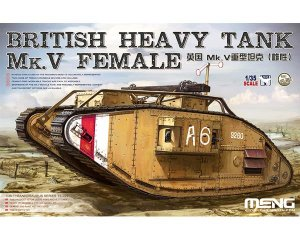British Heavy Tank Mk.V Female - Ref.: MENG-TS029